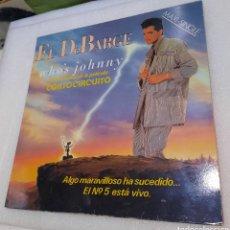 Dischi in vinile: EL DEBARGE - WHO'S JOHNNY. CORTOCIRCUITO BSO. Lote 264787654