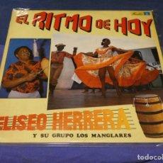 Discos de vinilo: LP SALSA LATINO ELISEO HERRERA Y SU GRUPO LOS MANGLARES RITMO DE HOY BUEN ESTADO GENERAL. Lote 264789299