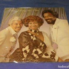 Discos de vinilo: LP ESPAÑOL MANZANA RECORDS BUEN ESTADO GENERAL CELIA CRUZ JOHNNY PACHECO Y PETE. Lote 264789464