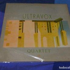 Discos de vinilo: LP CLASICO SYNTH NEW WAVE ULTRAVOX QUARTET 1982 LIGERO USO, DECENTE. Lote 264789594