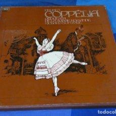 Discos de vinilo: CAJA DOS LPS COPPELIA DE ELIBES, DECCA 1972 BUEN ESTADO TIENE LIBRETO. Lote 264789814