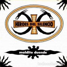 Disques de vinyle: HEROES DEL SILENCIO - MALDITO DUENDE .. SINGLE - EDICION EDICIÓN CONMEMORATIVA DE 2019 - PROMOCIONAL. Lote 264789929