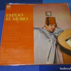 Discos de vinilo: LP ESPAÑA 1976 EMILIO EL MORO HOMONIMO BUEN ESTADO GENERAL. Lote 264790569