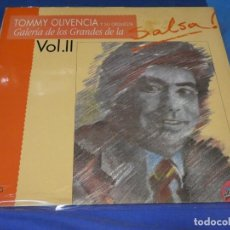 Discos de vinilo: LP SALSA BUEN ESTADO TOMMY OLIVENCIA GALERIA DE LOS GRANDES DE LA SALSA II. Lote 264791809