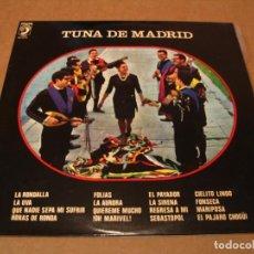 Disques de vinyle: TUNA DE MADRID LP JOSE DE SOTO DISCOPHON ESPAÑA 1972 LAMINADA. Lote 264796989