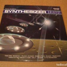 Disques de vinyle: ED STARINK LP SYNTHESIZER GREATEST ARCADE JEAN MICHEL JARRE VANGELIS ESPAÑA 1990. Lote 264797964