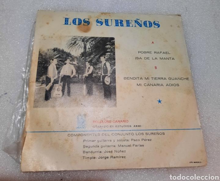 Discos de vinilo: Los sureños - pobre Rafael + 3 - Foto 3 - 264801299
