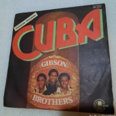 Disques de vinyle: GIBSON BROTHERS - CUBA. Lote 264802954