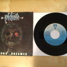 "Discos de vinilo: PICTURE - DIAMOND DREAMER / MESSAGE FROM HELL - SINGLE 7"" - SPAIN 1982. Lote 264811309"