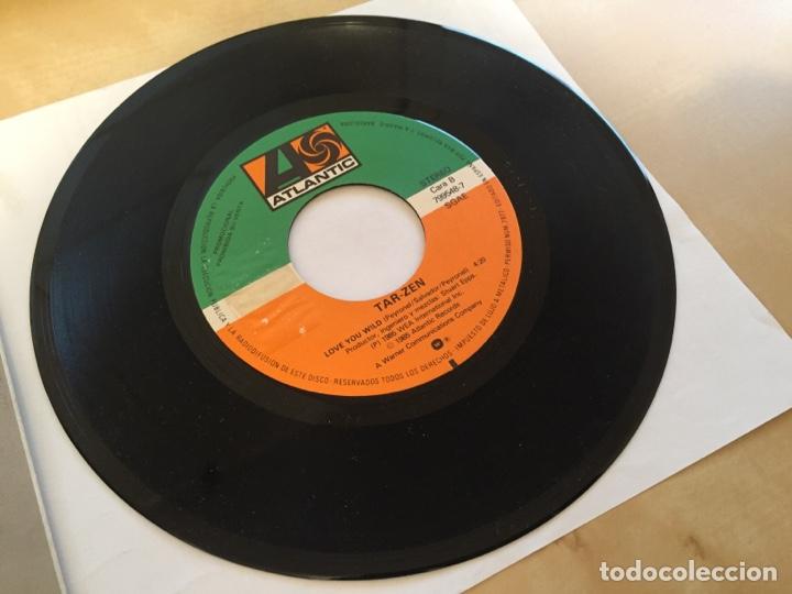 """Discos de vinilo: Tarzen - Taboo - PROMO SINGLE 7"""" - SPAIN 1985 ATLANTIC - Foto 4 - 264813419"""