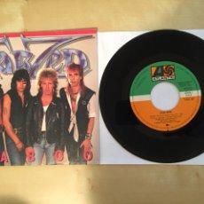 "Discos de vinilo: TARZEN - TABOO - PROMO SINGLE 7"" - SPAIN 1985 ATLANTIC. Lote 264813419"