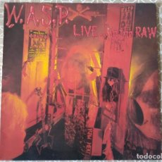 Disques de vinyle: W.A.S.P. LIVE....IN THE RAW. SPAIN 1987.. Lote 264815999