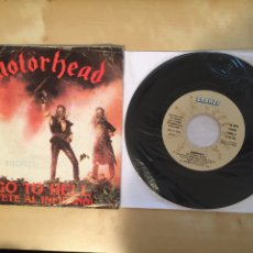 "Discos de vinilo: MOTÖRHEAD - GO TO HELL (VETE AL INFIERNO) - PROMO SINGLE 7"" - SPAIN 1982 - BRONZE. Lote 264817464"