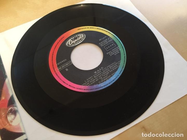 """Discos de vinilo: Wasp - 95 Nasty - PROMO SINGLE 7"""" - SPAIN 1986 - Capitol - Foto 4 - 264820324"""