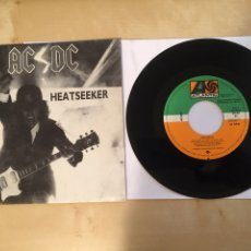 "Discos de vinilo: AC/DC - HEATSEEKER - PROMO SINGLE 7"" - SPAIN 1988 ATLANTIC. Lote 264822484"