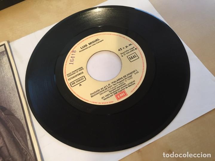 """Discos de vinilo: Luis Miguel - Muchachos De Hoy - PROMO SINGLE 7"""" - SPAIN 1985 EMI - Foto 2 - 264833244"""
