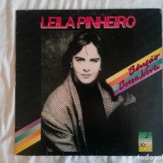 Discos de vinilo: DISCO VINILO LP BENÇÁO BOSSA NOVA - LEILA PINHEIRO -. Lote 264835289