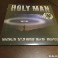 Discos de vinilo: HOLY MAN - SINGLE - RECORD STORE DAY - BRIAN MAY - ROGER TAYLOR - TAYLOR HAWKINS - QUEEN - FOO FIGHT. Lote 264841639