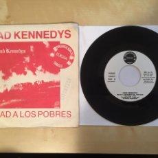 """Discos de vinil: DEAD KENNEDYS - MATAD A LOS POBRES - PROMO SINGLE 7"""" - 1981 SPAIN - EDIGSA. Lote 264849564"""