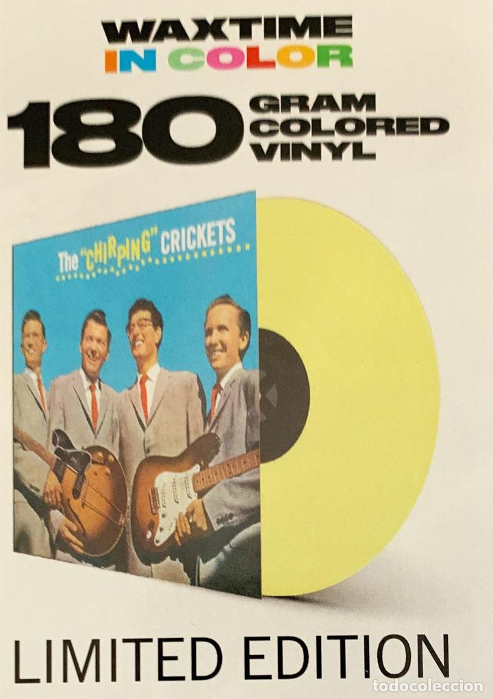 BUDDY HOLLY THE CHIRPING CRICKETS 180GR (Música - Discos - LP Vinilo - Rock & Roll)