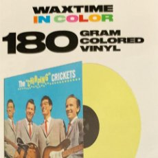 Discos de vinilo: BUDDY HOLLY THE CHIRPING CRICKETS 180GR. Lote 264851514