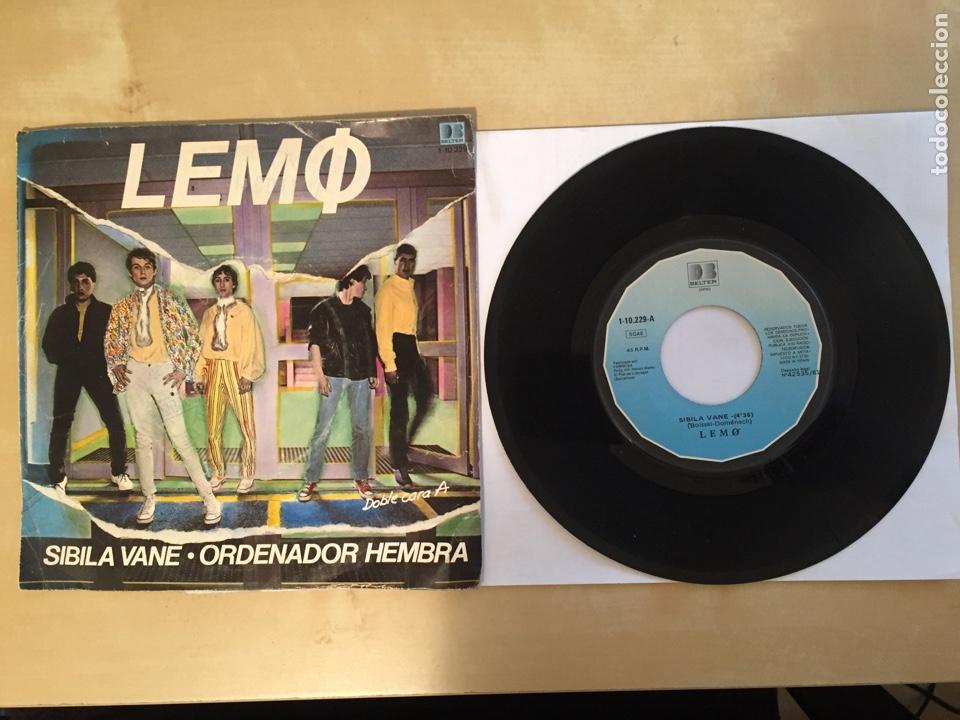 """LEMO - SIBILA VANE / ORDENADOR HEMBRA - SINGLE 7"""" - SPAIN 1981 (Música - Discos - Singles Vinilo - Grupos Españoles de los 70 y 80)"""