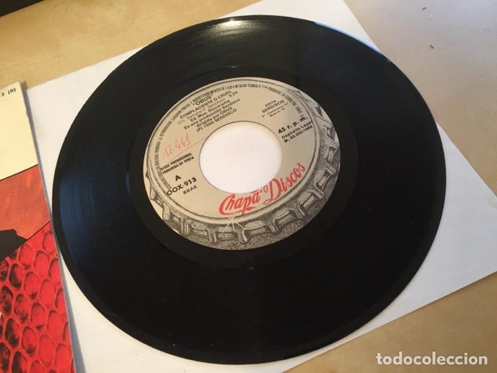 """Discos de vinilo: Obus - Complaciente O Cruel - PROMO SINGLE 7"""" - SPAIN 1988 Chapa Discos - Foto 2 - 264871429"""