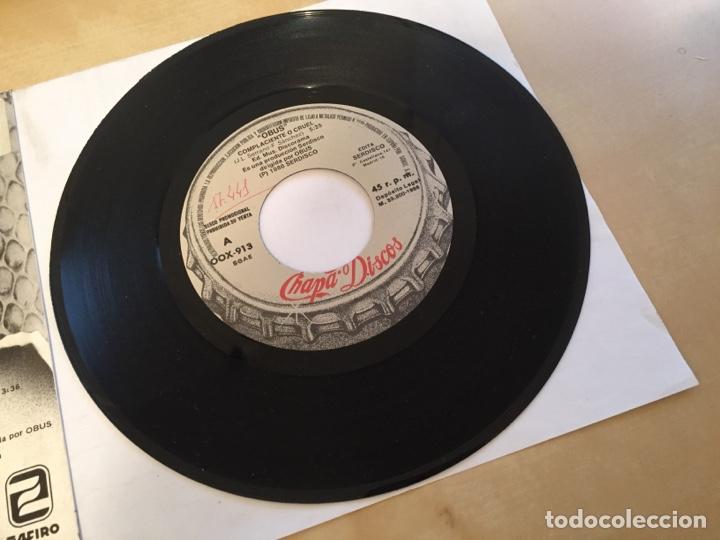 """Discos de vinilo: Obus - Complaciente O Cruel - PROMO SINGLE 7"""" - SPAIN 1988 Chapa Discos - Foto 4 - 264871429"""