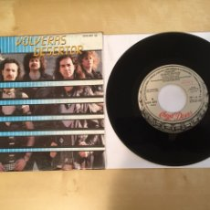 "Discos de vinilo: PANZER - VOLVERAS A DESERTAR - PROMO SINGLE 7"" - SPAIN 1986 CHAPA DISCOS. Lote 264962674"