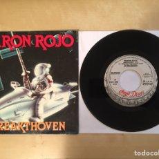 "Discos de vinilo: BARON ROJO - BREAKTHOVEN - PROMO SINGLE 7"" - SPAIN 1985 CHAPA DISCOS. Lote 264963969"