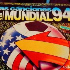 Discos de vinilo: LAS CANCIONES DEL MUNDIAL 94 * 2 LP VINILO * BLANCO Y NEGRO 1994 * RARE. Lote 264966204
