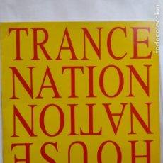 Discos de vinilo: TRANCE NATION-HOUSE NATION - TRANCE BOX RECORDS 1995 SPAIN - MAXI - MUY BUEN ESTADO. Lote 264969549