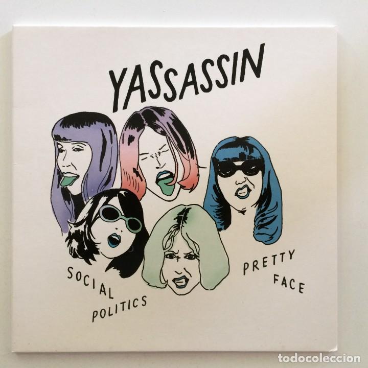YASSASSIN – SOCIAL POLITICS / PRETTY FACE UK,2016 (Música - Discos - Singles Vinilo - Pop - Rock Internacional de los 90 a la actualidad)
