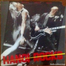 Discos de vinilo: HANOI ROCKS - BANGKOK SHOCKS, SAIGON SHAKES, HANOI ROCKS. Lote 265099134