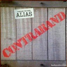 Discos de vinilo: ALIAS - CONTRABAND. ROCK SUREÑO. Lote 265099569