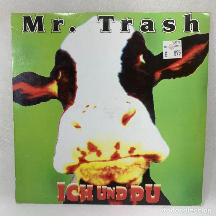 LP - VINILO MR. TRASH - ICH UND DU - ESPAÑA - AÑO 1995 (Música - Discos - LP Vinilo - Techno, Trance y House)