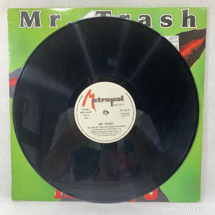 Discos de vinilo: LP - VINILO MR. TRASH - ICH UND DU - ESPAÑA - AÑO 1995 - Foto 3 - 265109324
