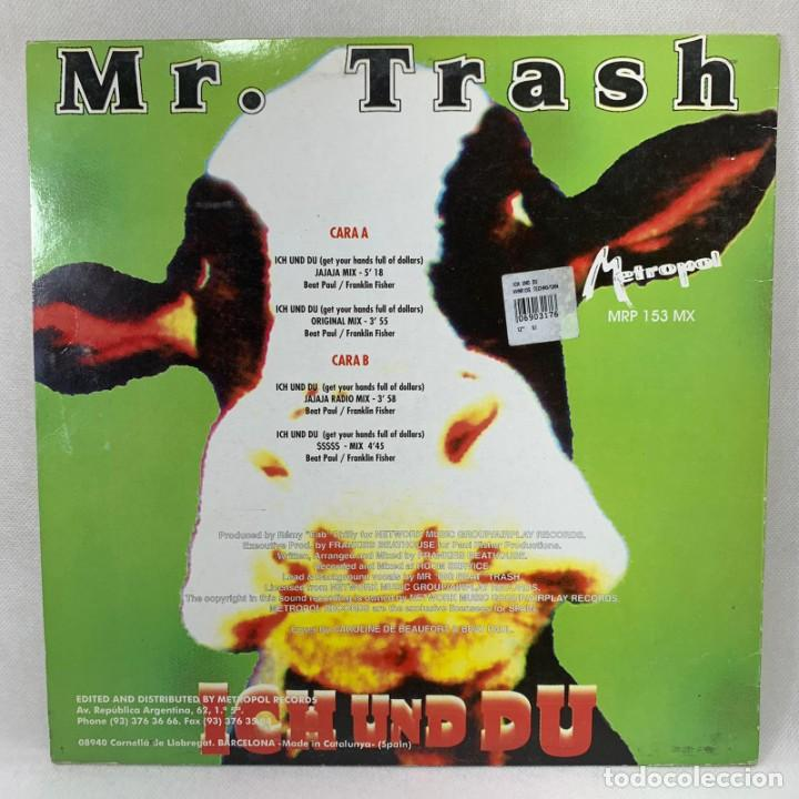 Discos de vinilo: LP - VINILO MR. TRASH - ICH UND DU - ESPAÑA - AÑO 1995 - Foto 4 - 265109324