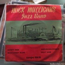 Discos de vinilo: MICK MULLIGAN JAZZ BAND - MICK MULLIGAN JAZZ BAND (TEMPO RECORDS, UK, 1957). Lote 265117159