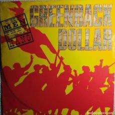 """Discos de vinilo: 12"""" THE MEN THEY COULDN'T HANG - GREENBACK DOLLAR - DEMON D 1040 T - UK - MAXI (EX-/EX-). Lote 265119104"""