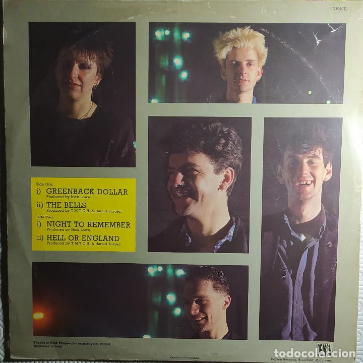 """Discos de vinilo: 12"""" THE MEN THEY COULDNT HANG - Greenback Dollar - Demon D 1040 T - UK - MAXI (EX-/EX-) - Foto 2 - 265119104"""