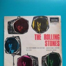 Disques de vinyle: THE ROLLING STONES - NO ME PUEDES ALCANZAR + 3 1965. Lote 265131174
