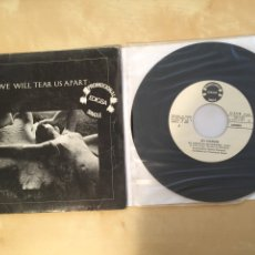 "Discos de vinilo: JOY DIVISION - LOVE WILL TEAR US APART - PROMO SINGLE 7"" - SPAIN 1981 EDIGSA. Lote 265140094"