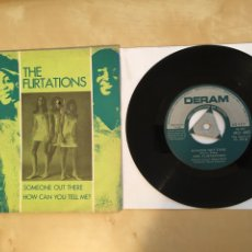"""Discos de vinilo: THE FLIRTATIONS - SOMEONE OUT THERE / HOW CAN YOU TELL ME? - PROMO SINGLE 7"""" - SPAIN 1968 DERAM. Lote 265142729"""