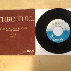 "Discos de vinilo: JETHRO TULL - WATCHING ME, WATCHING YOU - PROMO SINGLE 7"" - SPAIN 1982 CHRYSALIS. Lote 265147169"