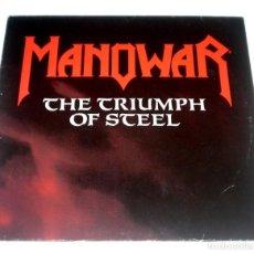 Discos de vinilo: LP MANOWAR - THE TRIUMPH OF STEEL. Lote 265150159