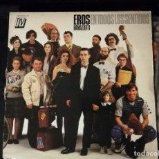 Discos de vinilo: DISCO LP- EROS RAMAZZOTTI- EN TODOS LOS SENTIDOS. Lote 265155309