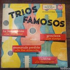 Discos de vinilo: TRIOS FAMOSOS. RCA. 1960. LOS TRES ASES - LOS DANDYS - LOS TRES DIAMANTES - LOS FLAMINGOS. 3-22159. Lote 265158149