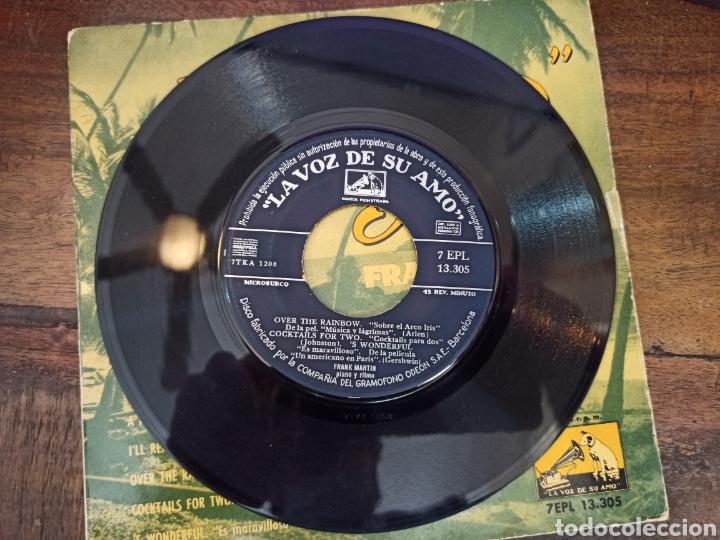 Discos de vinilo: TROPICAL POPS. FRANK MARTIN. LA VOZ DE SU AMO. BARCELONA, 1959. 13305 - Foto 3 - 265159759
