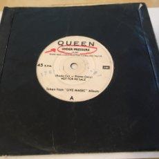 "Discos de vinilo: QUEEN - UNDER PRESSURE / MEDLEY - PROMO SINGLE 7"" - 1986 EMI. Lote 265168949"
